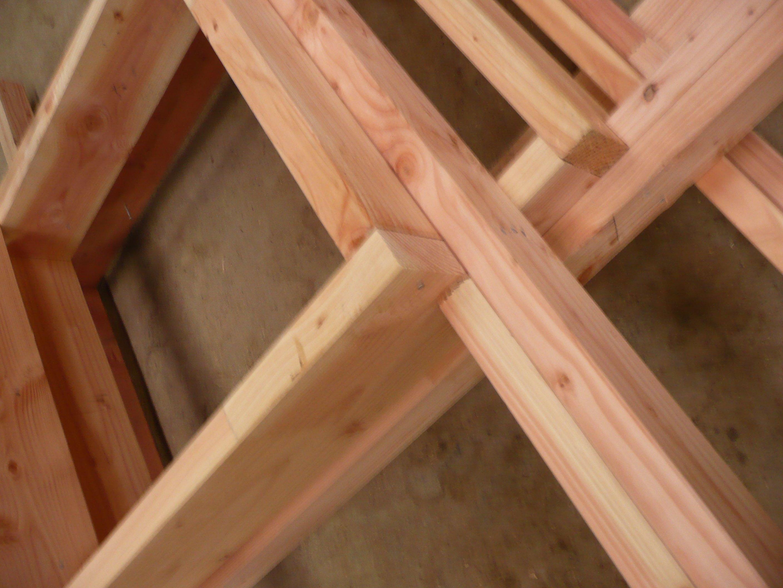 Formatbois les tapes de construction d une maison for Assemblage bois meuble